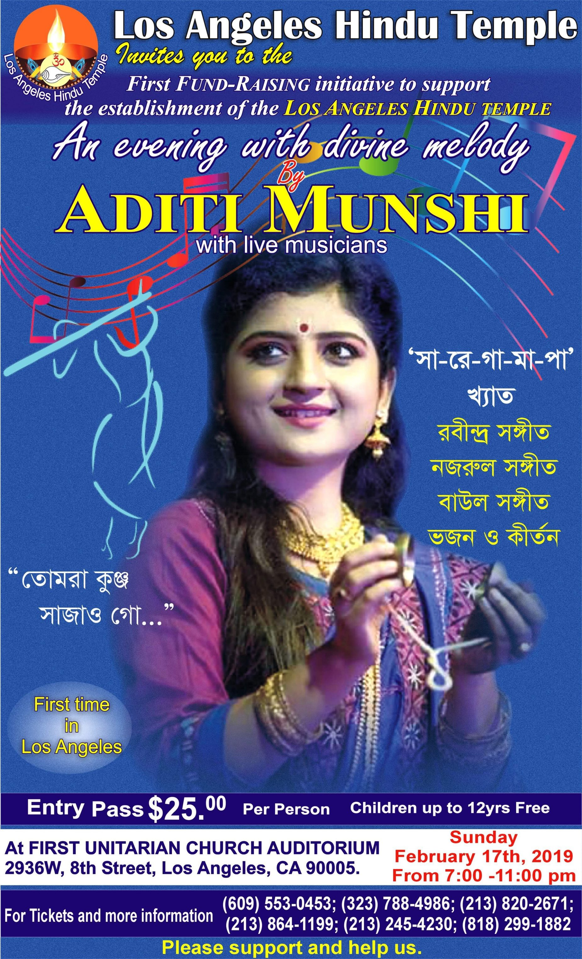 Aditi Munshi Live 2/17/19